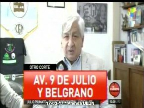 Piumato en América TV  #ParoNacional 6 de Abril CGT 17-03-17