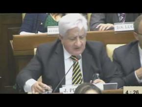 Piumato en cumbre sobre trata de personas y crimen organizado