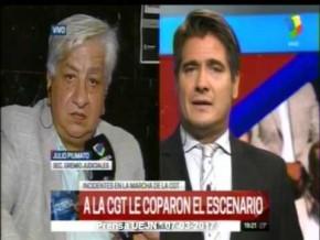 Piumato en América Noticias #MarchaCGT 07-03-17