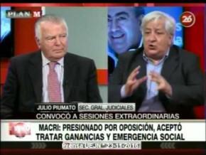 Julio Piumato en Plan M #Inflación #Ganancias 23-11-16