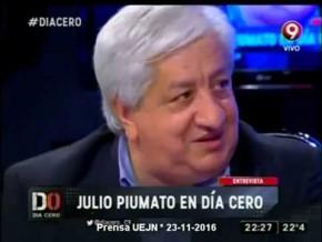 Piumato en Día Cero  #Inflación #Ganancias 23-11-16