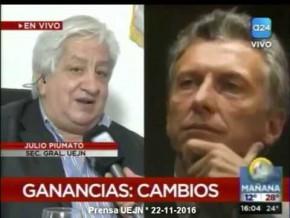 Piumato en #SegundaTarde con Mariana Contartessi y Pablo Vilouta 22-11-16